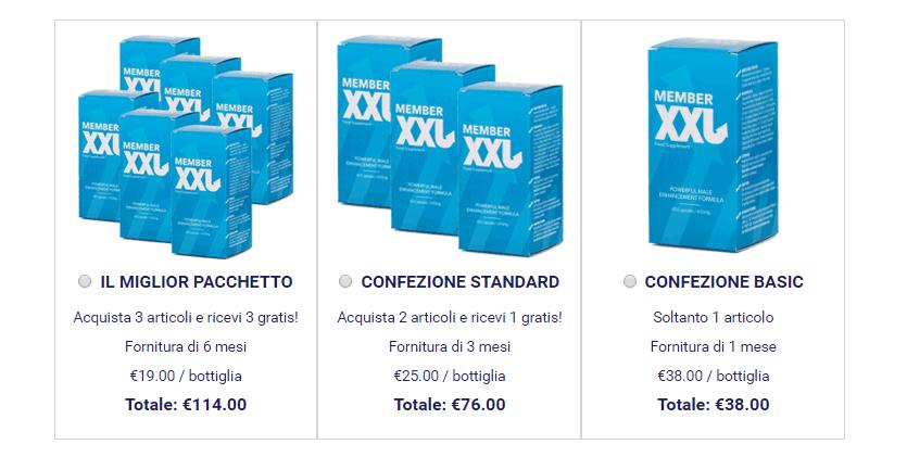member_xxl price